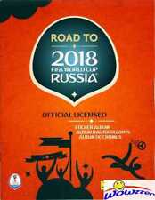 2018 Panini Road to FIFA World Cup Russia 64 Page Collectors Album-10 Stickers!