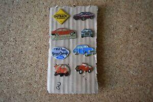 Auto Pins++Konvolut 8 Stück++verschiedene Marken+Sammlung++