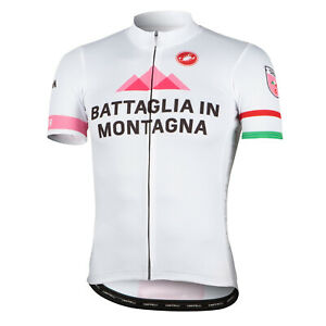 Castelli Battaglia in Montagna Men's Team Cycling Jersey Size S, L