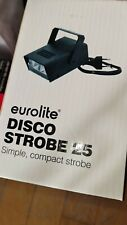 EUROLITE Disco Strobe 25 Partystrobe Stroboskop Blitzlicht regelbarer Blitzer