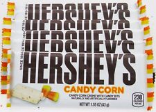 Lot 6 Hershey's Candy Corn Candy Bars Halloween Holiday Limited Candies sweets