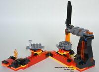 NEW!! LEGO Star Wars 75269 Duel on Mustafar.  NO MINIFIGURES/ACCESS.  NO BOX.