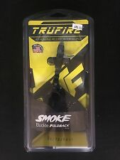 Tru-Fire Smoke Buckle Fold Back Wrist Strap Compound Bow Release BRAND NEW