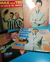 Max Bygraves 4-LP/Vinyl Record Box Set Bundle SING A LONG WITH & MAX and TED   P