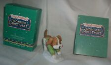 Hallmark Mary Engelbreit The Wonder Of Christmas Porcelain Kip The Dog New Boxed