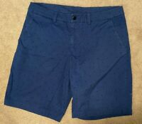 Lululemon Mens Casual Shorts Blue with Pattern  Size 38 Golf
