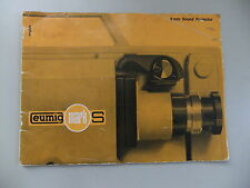Instructions cine projector Eumig MARK S sound - CD/Email