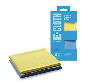 E-Cloth Glass & Polishing Cloth Home Micro Fibre Window Cleaning & Drying Cloth