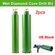 2.2'' 3'' Combo Wet Diamond Core Drill Bits for Concrete Premium Grade 2pcs/Set
