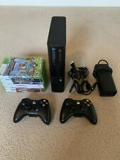 Xbox 360 Slim Console Bundle With 2 Controllers Plus Minecraft and Other Games