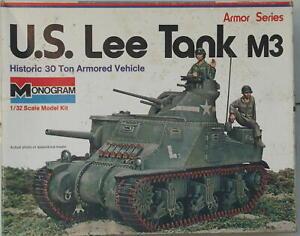 Monogram Lee Tank M3 1/32 scale
