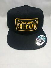 California Chicano license plate West Coast cholo style gangster hats