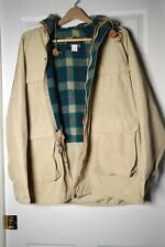 Woolrich Winter Parka Jacket with Hood - Men Size L Very Good Condition