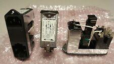Schurter CG40.6199.151 AC Power Entry Module with Line Filter, 6A, IEC 320-C14