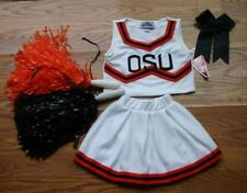 OKLAHOMA STATE COWGIRL CHEERLEADER COSTUME OUTFIT HALLOWEEN CHEER SET DRESS 2T