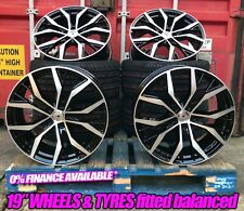 Santiago STYLE GTI Gtd 19 Inch Alloy Wheels SET OF 4 BRAND NEW TYRES 19""