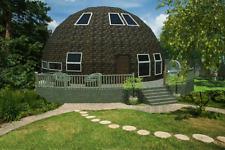 Moon House 26' Diam Dome S 538 -947 sq.ft Strut Framing Kit Wood Prefab Diy Home