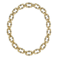 Chloe and Isabel Endless Pavé Link Necklace - N377 - NEW