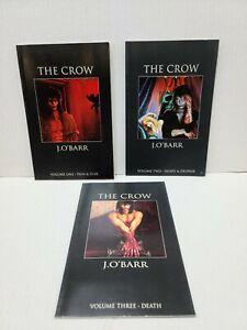 The Crow | Volume 1, 2, 3 1st Prints | J. O'Barr | Paperback | Tundra Publishing
