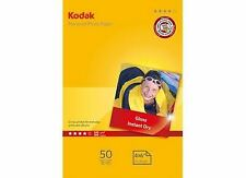 "4 Pack: Kodak Glossy Photo Paper 6x4"" 240gsm for All Inket Printers (200 sheets)"