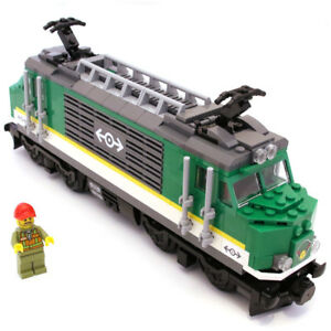 Lego Genuine Cargo Train Locomotive Engine (No Battery and Motor) from 60198 NEW