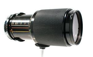 Vivitar 70-210mm f3.5 Macro Lens, OM fit,+ Adapter for Canon DSLRs-Tested & Good