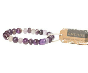 Scout Curated Wears AMETHYST STONE Stacking Bracelet PROTECTION Jewelry SS013