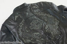 Harley Davidson Road Revolution Leather Jacket 3XL Reflective Eagle 97112-09VM