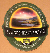 Beer pump badge clip HOWARD TOWN brewery LONDENDALE LIGHTS ale pumpclip front