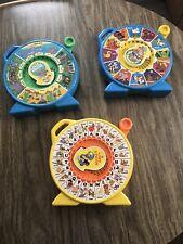3 Vintage Mattel See N Say Machines