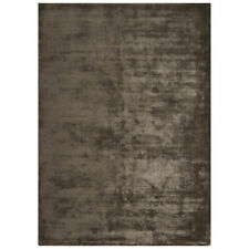 John Lewis Katherine Carnaby Chrome High Sheen Rug Charcoal Grey 180 X 120 Cm Ne