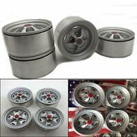 4pcs 1.9'' Wheel Rims for 1/10 RC Crawler Axial SCX10 II 90046 Traxxas TRX4 D90