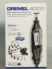 Dremel 4000 High-Performance Rotary Tool Kit, 26 Accessories 4000-1/26