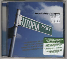 Fountains of Wayne - Utopia Parkway CD  - MINT promo CD with hype sticker Denise