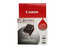 Genuine Canon PGI-5BK Twin Pack Ink Cartridge PGI-5 iP4500 iP5200 MP520 MP960