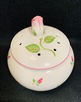 Vintage ~ Teleflora ~ Ceramic ~ Roses ~ Potpourri Container