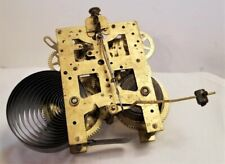 Vintage Brass New Haven Clock Movement
