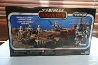 """Boxed Star Wars Vintage Collection 3.75"""" Imperial Combat Assault Tank MISB MISB"""