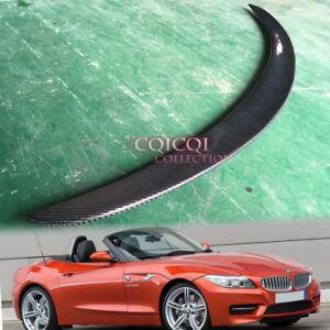 Carbon Fiber BMW 09-16 E89 Z4 Convertible Roadster 3D Type Trunk Spoiler◎