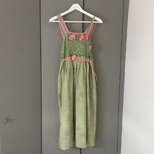 Manoush Green Lace Dress Size 38 Or UK 12 Would Fit Size 36 RRP£500 Vintage