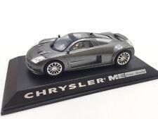 chrysler me 412 n11/40 collection concept cars 1/43 altaya sur socle + fascicule