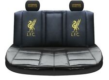 Liverpool FC Premium Limited Edition PVC Rear Car Seat Cover black
