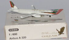 Schabak Airbus A320-212 Gulf Air 2nd version in 1:600 scale