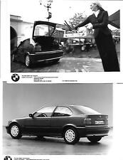 """SET OF 5 BMW 3 SERIES COMPACT MODEL PRESS PHOTO UP TO 2000 """"brochure related"""""""