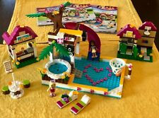 """Lego Friends #41008 - """"Heartlake City Pool"""" - 99.99% Complete with Manual"""