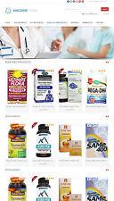 Vitamins & Supplements Store - Amazon Affiliate Website + Free Hosting
