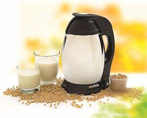 Tribest Soyabella Soya Milk Maker in Black | Soy & Nut Milk Maker