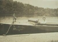 1930s Photo Antique Lake Speedboat BECK BROTHERS WHOOPEE! Boat Toggle Windshield
