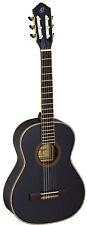 ORTEGA R221BK-3/4 Konzert-Gitarre, schwarz
