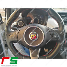 comandi al volante fiat 500 grande punto ADESIVI decal sticker carbonlook 4D/3D